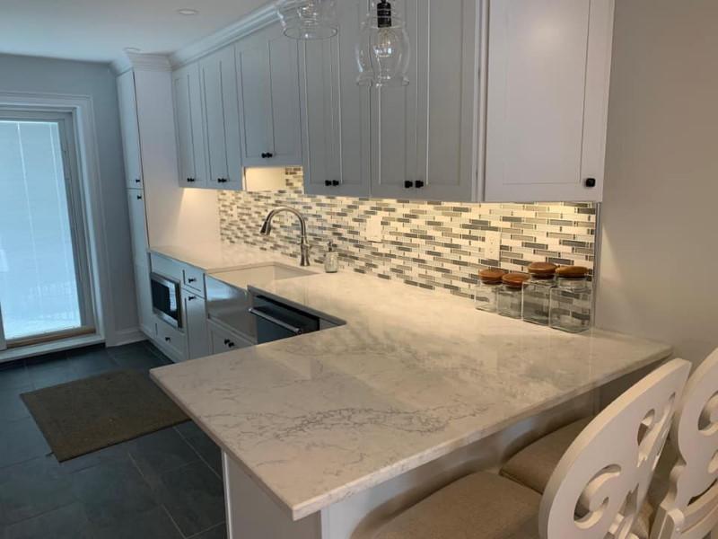 A&P Custom Kitchens Beautiful Granite Countertops Philadelpia PA