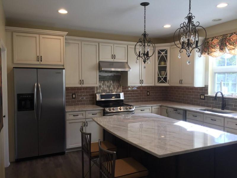 A&P Custom Kitchens Granite Countertop Installation Philadelphia